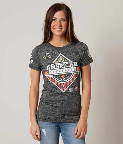 American Fighter Clarkson Tetris T-Shirt