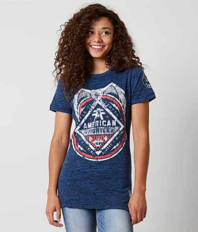 American Fighter Marine Support T-Shirt