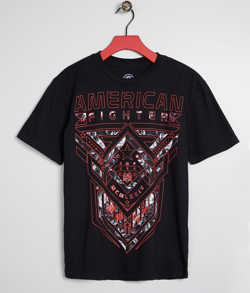 Boys - American Fighter Cisco T-Shirt front view