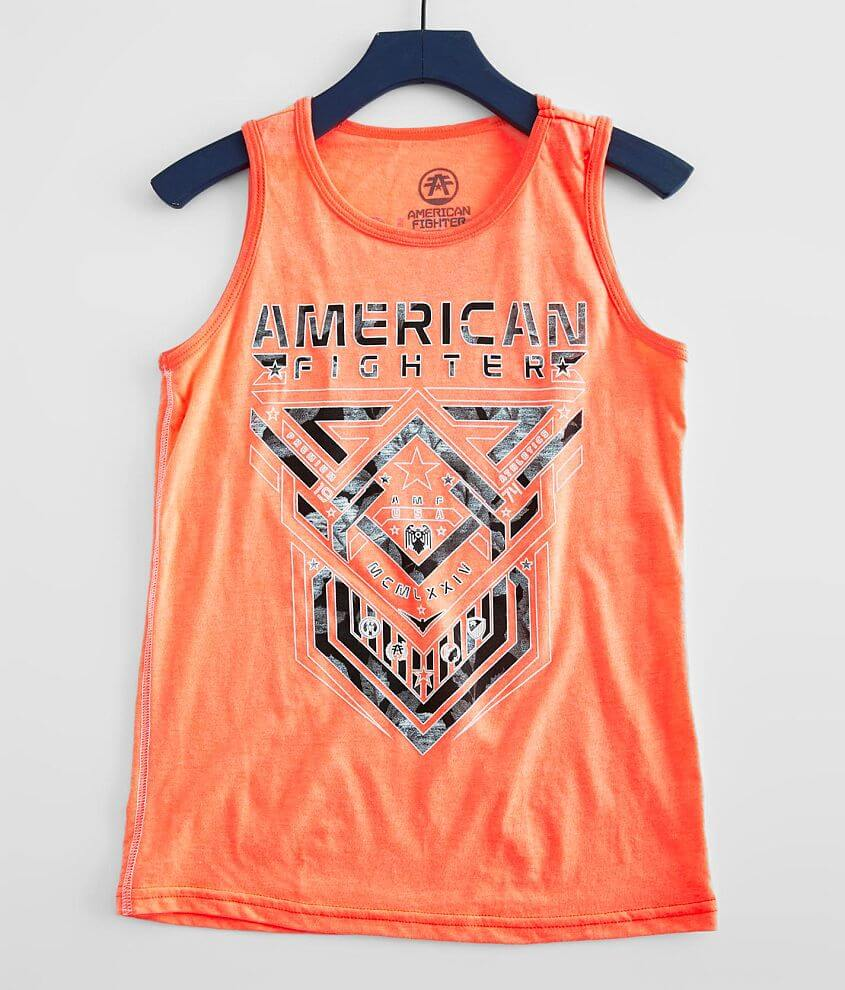 Boys - American Fighter Cisco Tank Top front view