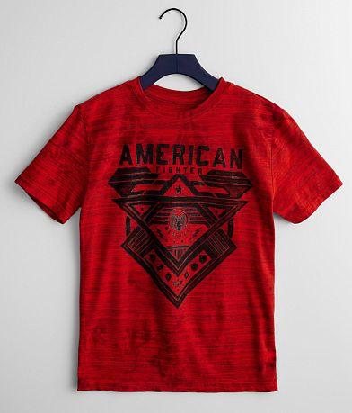 Boys - American Fighter Mountville T-Shirt