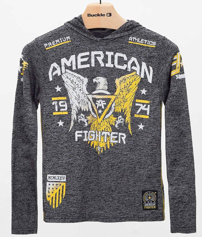 Boys - American Fighter Chicago Hoodie front view