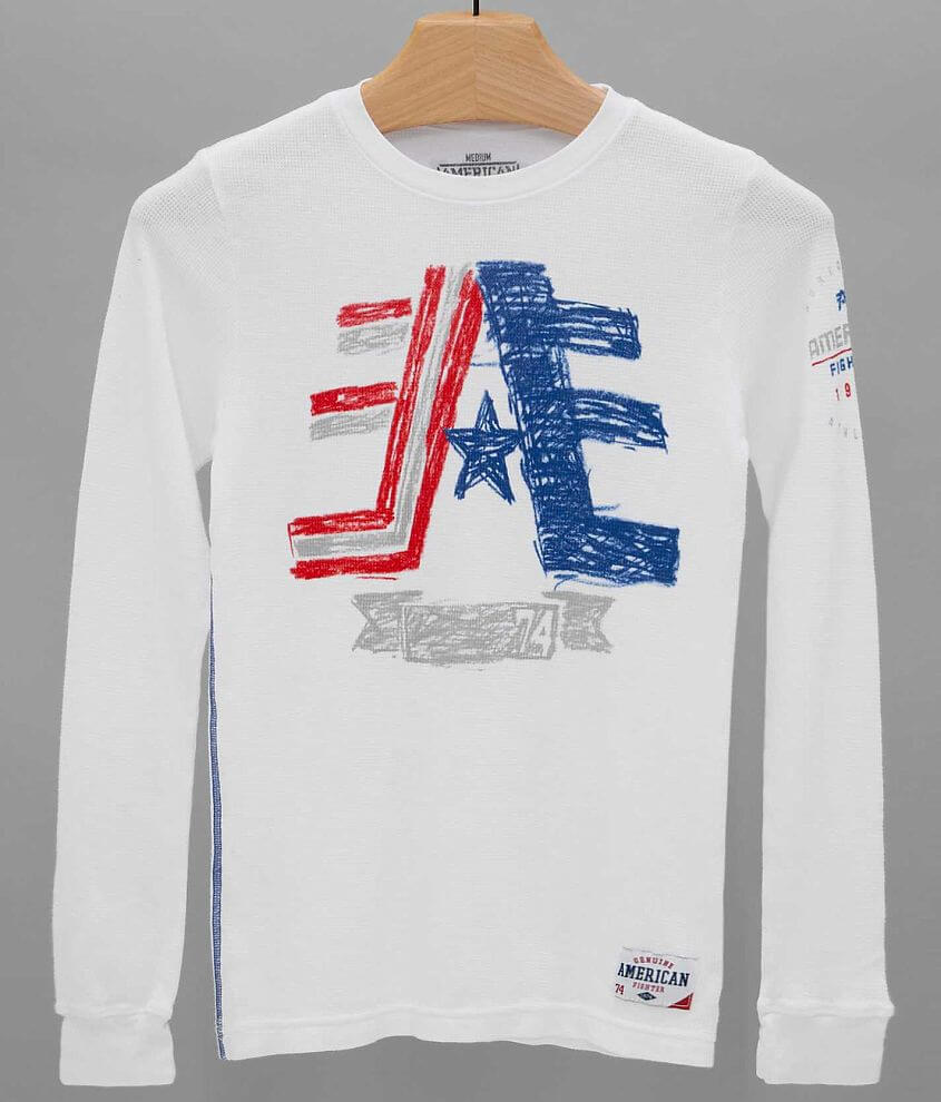 Boys - American Fighter Cornerstone Thermal Shirt front view