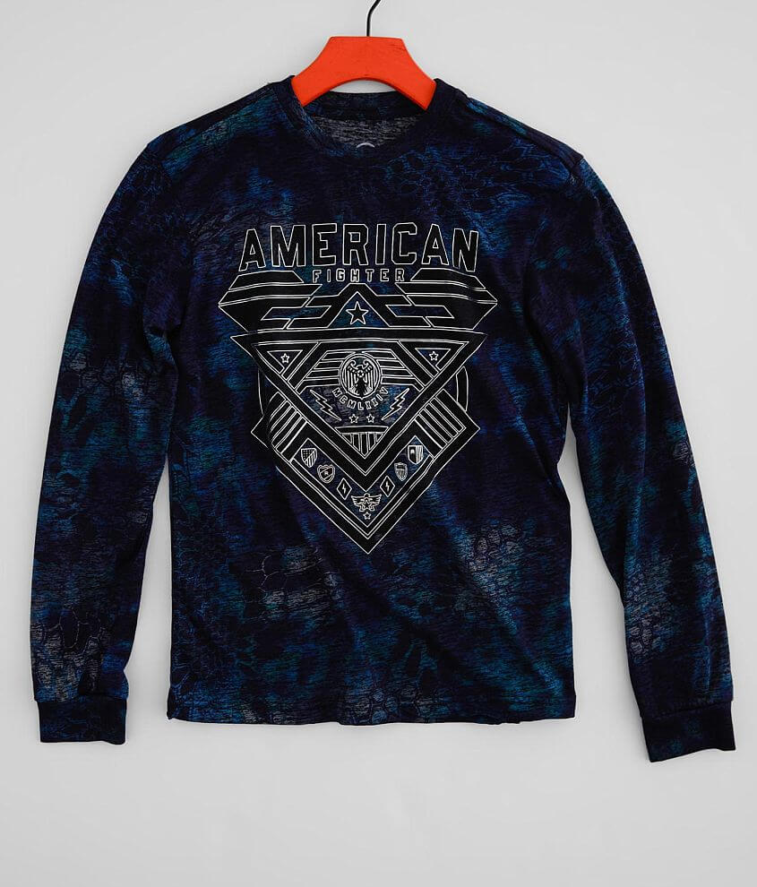 Boys - American Fighter Mountville T-Shirt front view