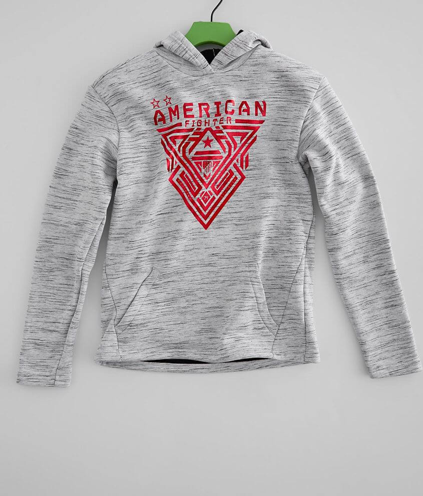 Boys - American Fighter Mayville Hooded Sweatshirt front view