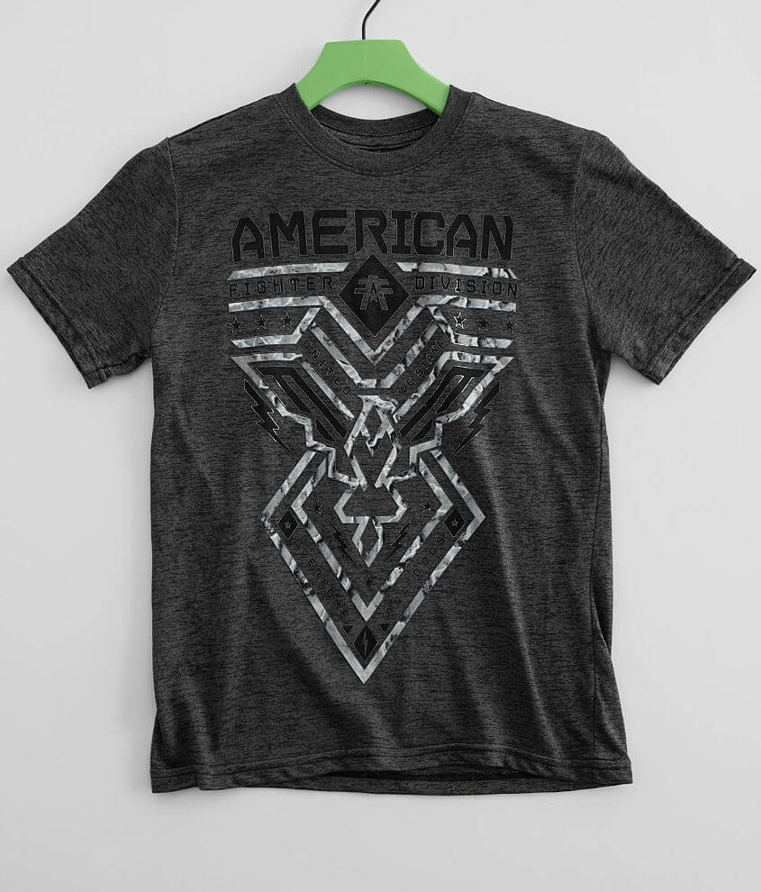 Boys - American Fighter Dugger T-Shirt front view
