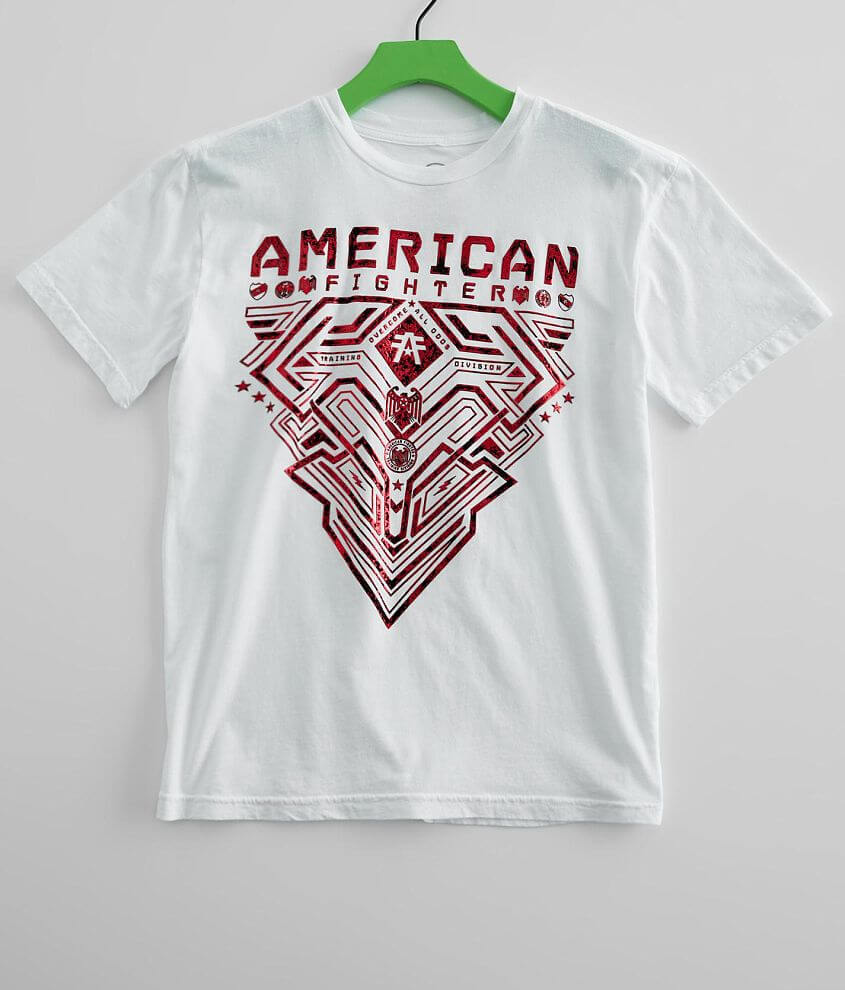 Boys - American Fighter Foster T-Shirt front view