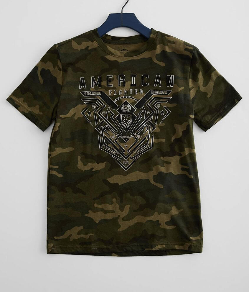 Boys - American Fighter Brimley T-Shirt front view