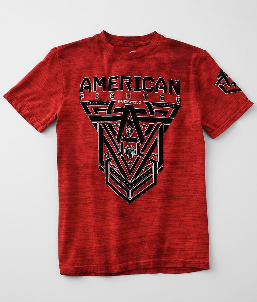 Boys - American Fighter Glover T-Shirt front view