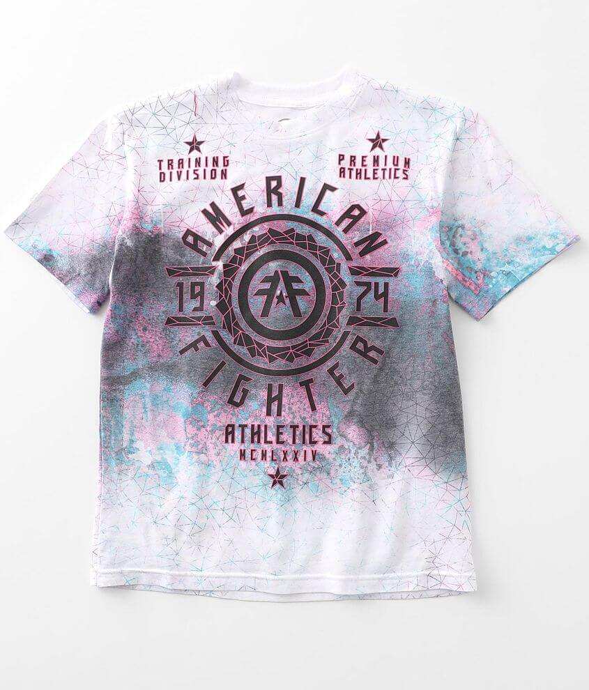 Boys - American Fighter Kingsgate T-Shirt front view