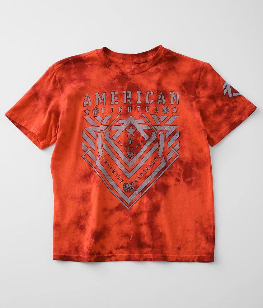 Boys - American Fighter Parkside T-Shirt front view