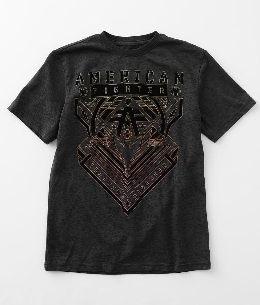 Boys - American Fighter Wardell T-Shirt front view