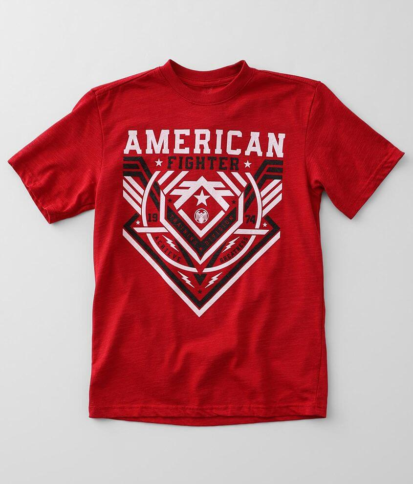 Boys - American Fighter Fallbrook T-Shirt front view