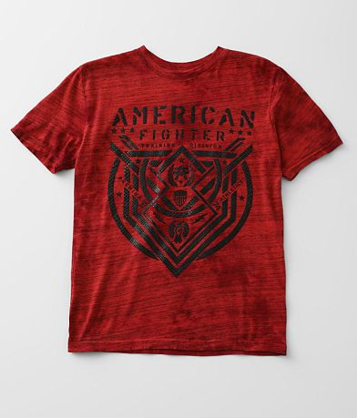 Boys - American Fighter Lost Springs T-Shirt