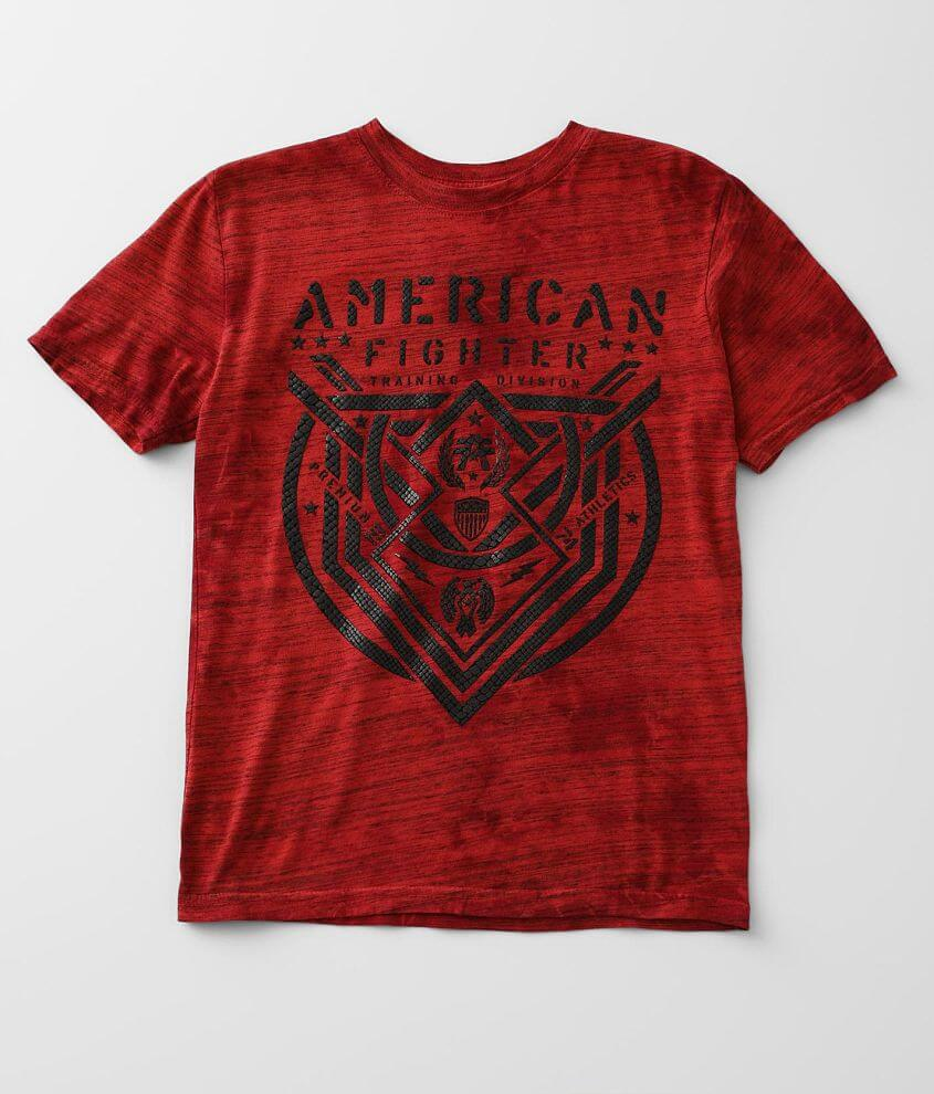 Boys - American Fighter Lost Springs T-Shirt front view