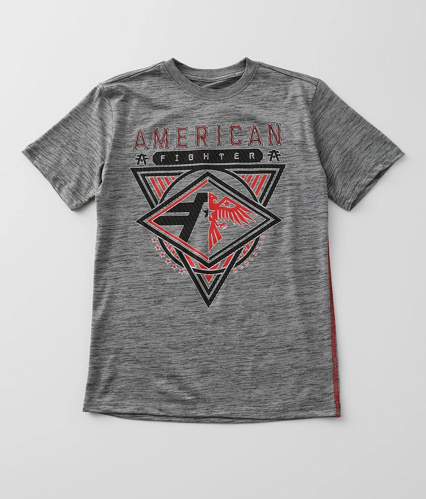 Boys - American Fighter Redvale T-Shirt front view