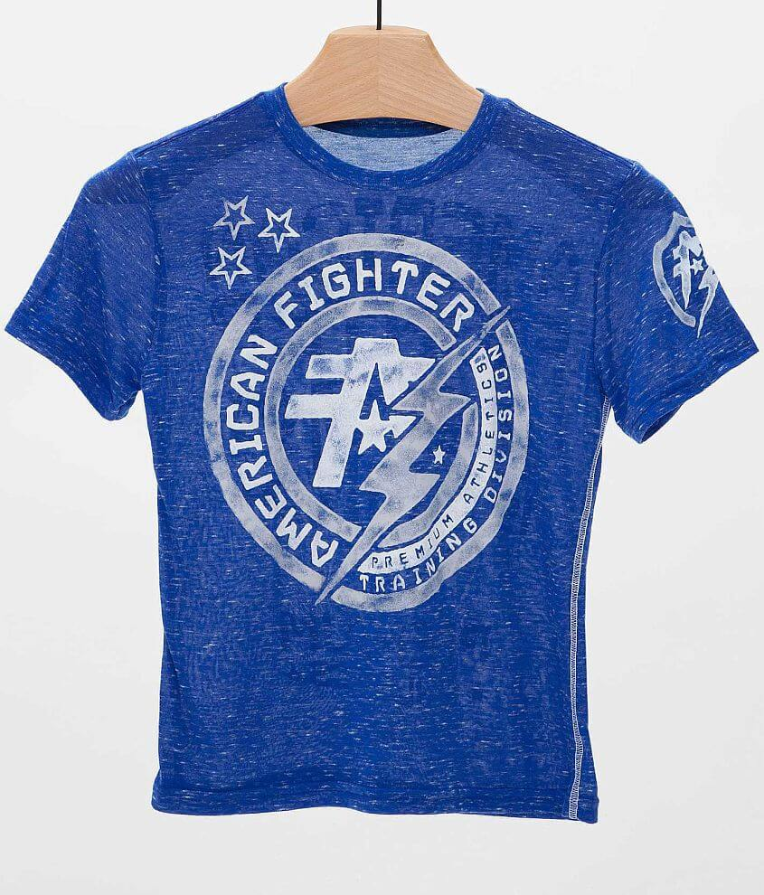 Boys - American Fighter Allen T-Shirt front view