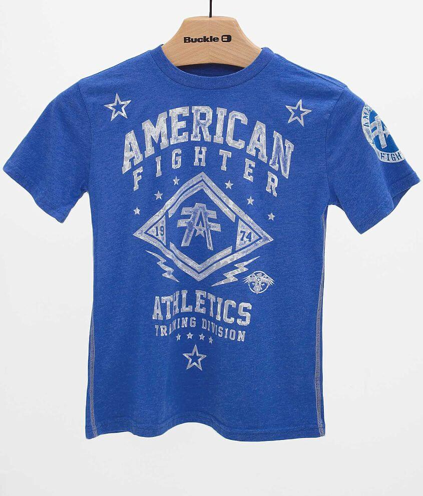 Boys - American Fighter Lindenwood T-Shirt front view