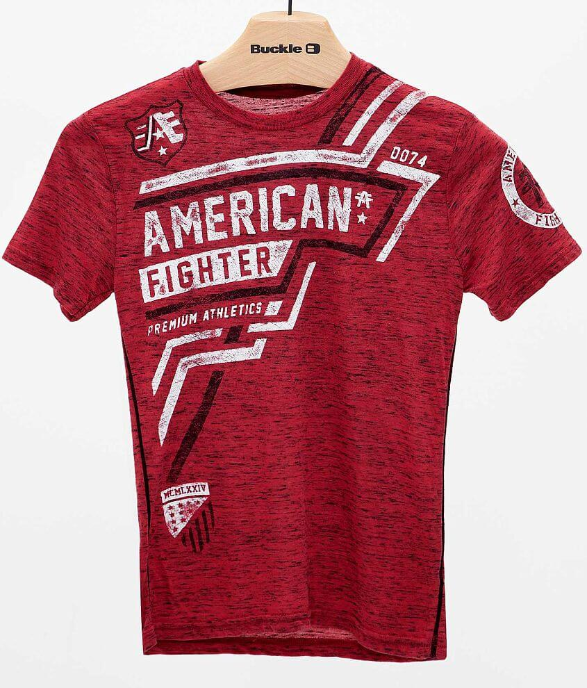Boys - American Fighter Bentley T-Shirt front view