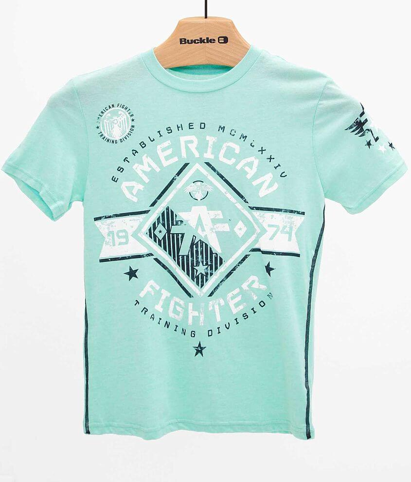 Boys - American Fighter Massachusetts T-Shirt front view