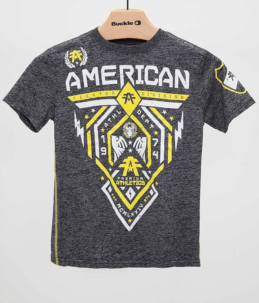 Boys - American Fighter Fairbanks T-Shirt front view