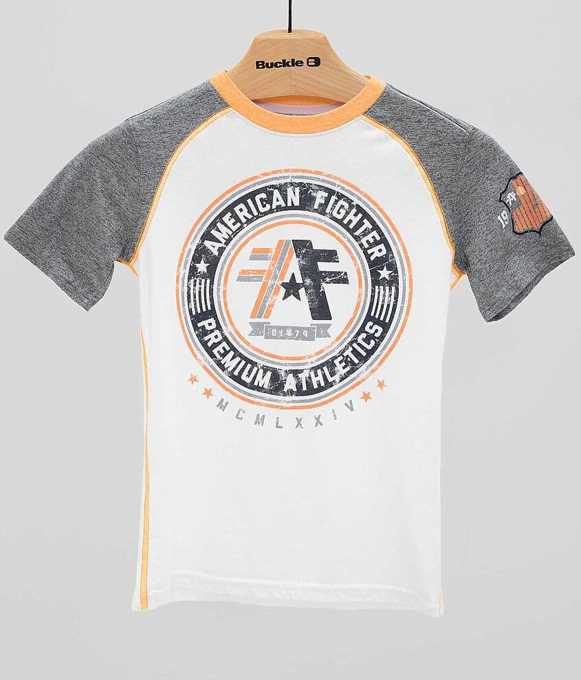 Boys - American Fighter Linfield T-Shirt front view