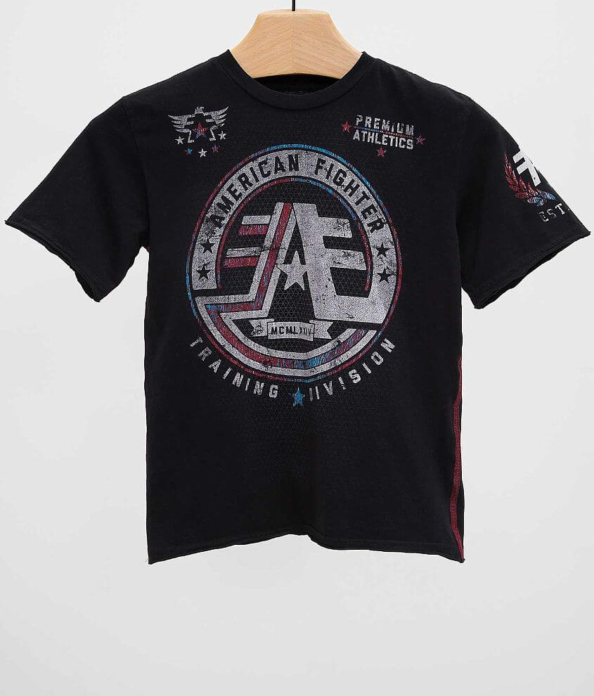 Boys - American Fighter Bryant T-Shirt front view