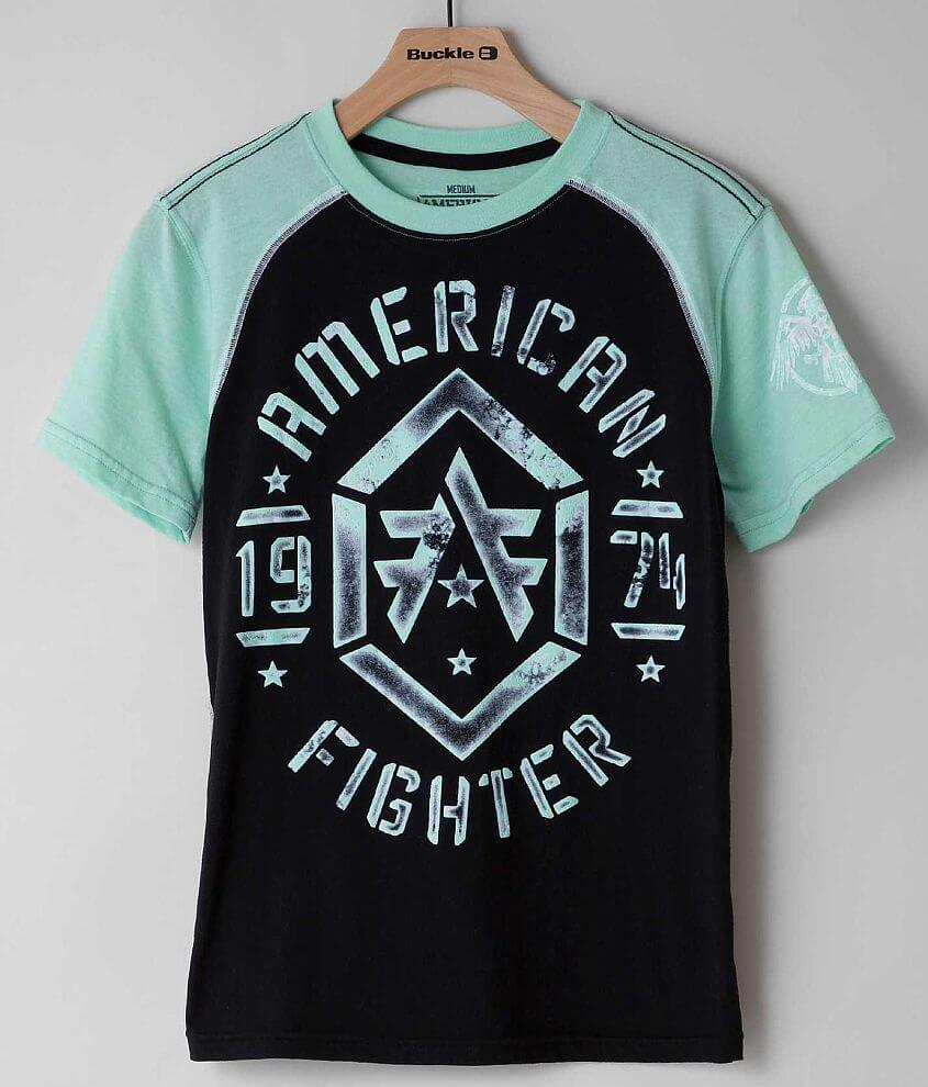 Boys - American Fighter Calvin T-Shirt front view
