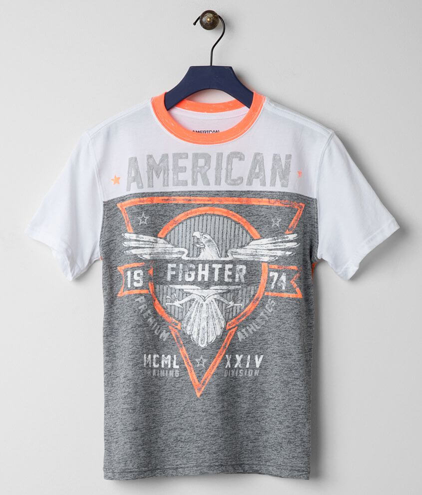Boys - American Fighter Great Lake Artisan T-Shirt front view