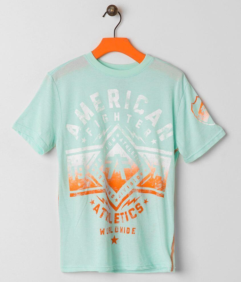 Boys - American Fighter Santa Clara T-Shirt front view