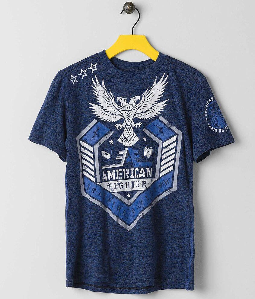 Boys - American Fighter Woodbury T-Shirt front view