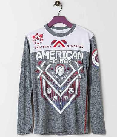 Boys - American Fighter North Dakota T-Shirt