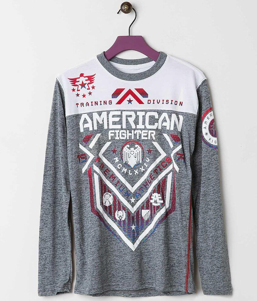 Boys - American Fighter North Dakota T-Shirt front view