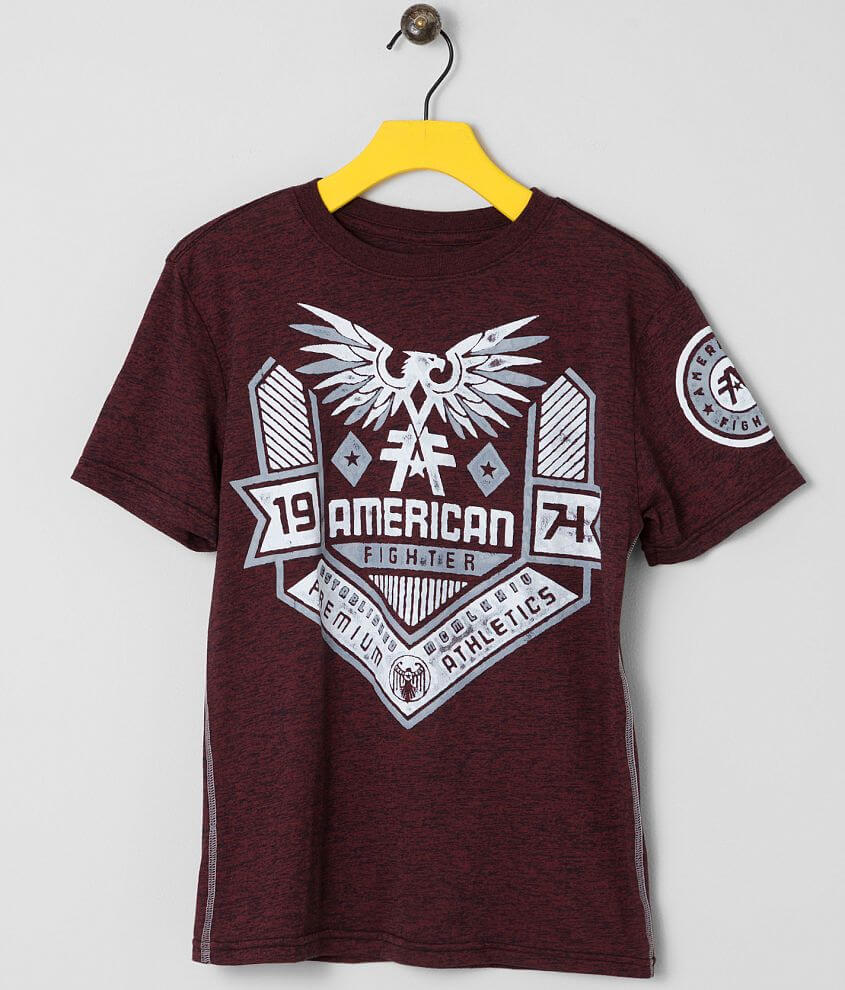 Boys - American Fighter Augusta T-Shirt front view