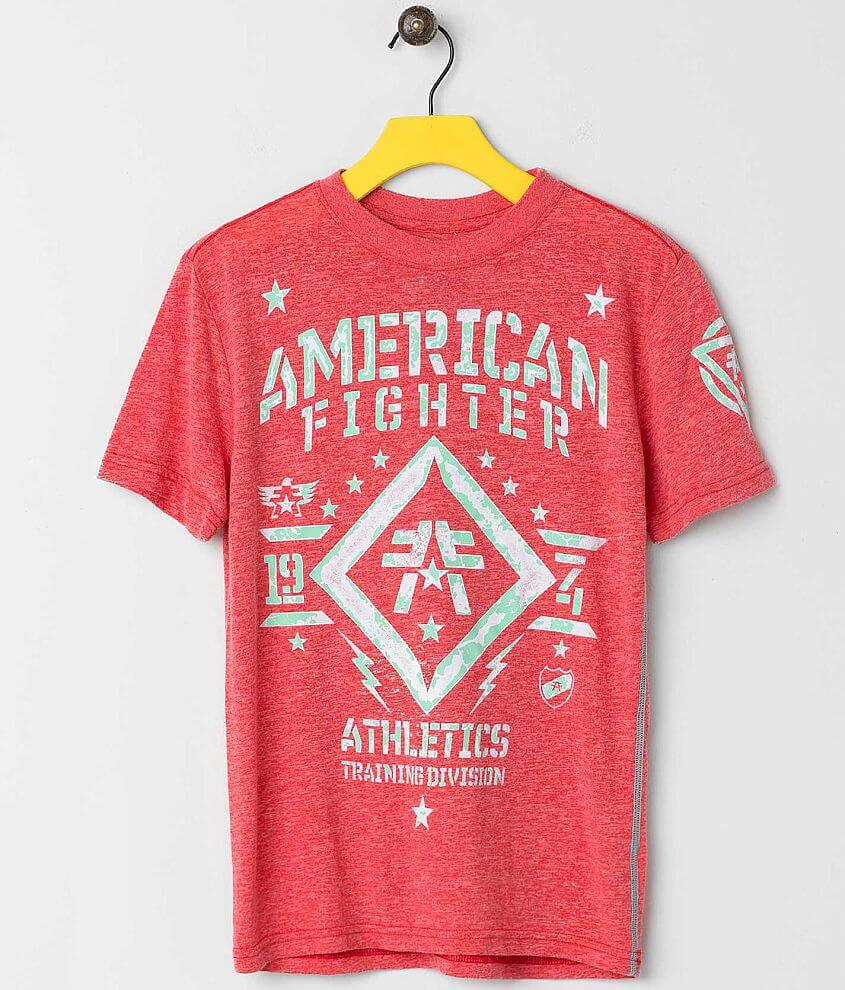 Boys - American Fighter Butler T-Shirt front view