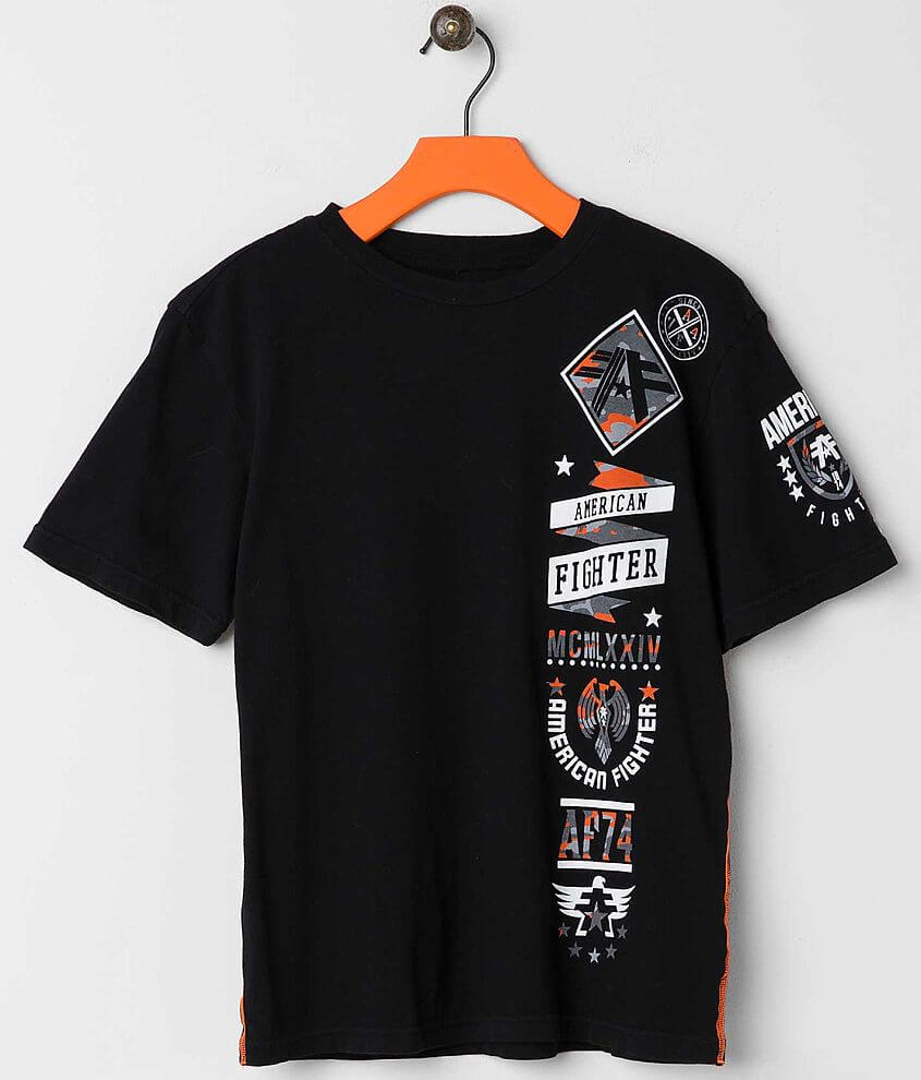 Boys - American Fighter Lander T-Shirt front view