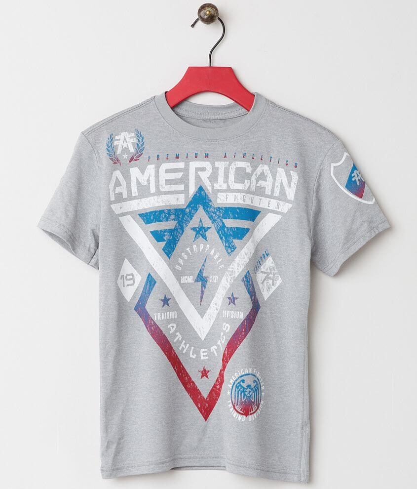 Boys - American Fighter Alaska Scribble T-Shirt front view