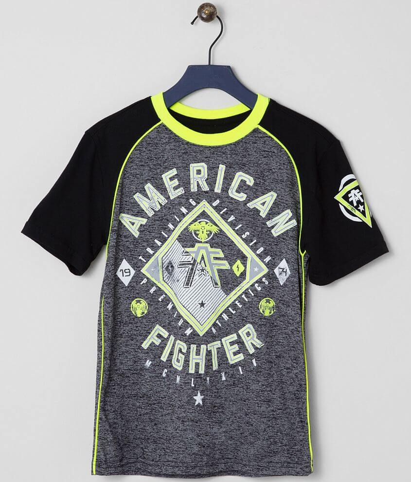 Boys - American Fighter Gardner T-Shirt front view