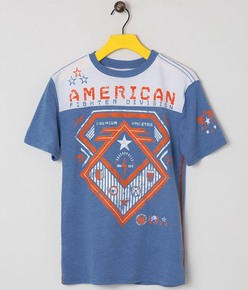Boys - American Fighter Concord T-Shirt front view
