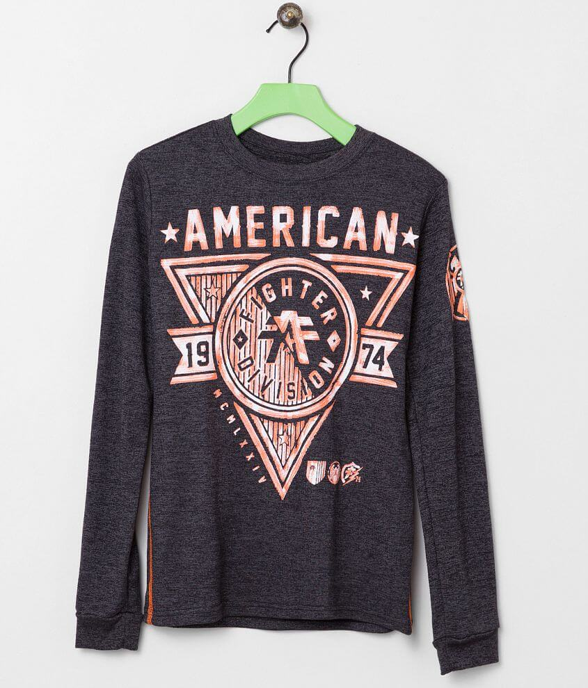 Boys - American Fighter Siena Heights Shirt front view