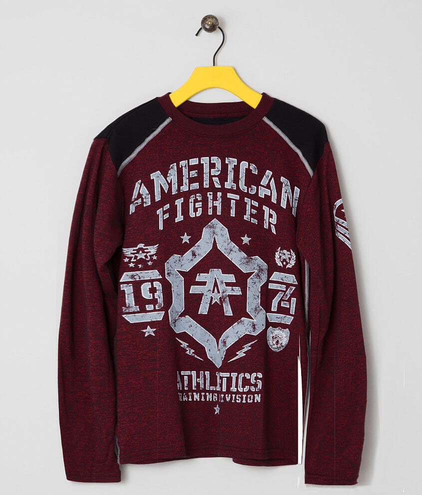 Boys - American Fighter Wentworth T-Shirt front view