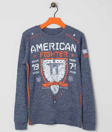 Boys - American Fighter Macalaster Thermal Shirt