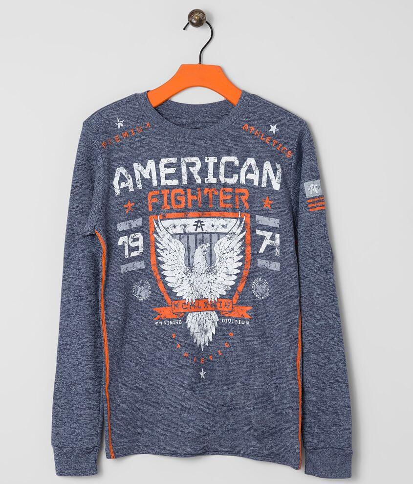 Boys - American Fighter Macalaster Thermal Shirt front view