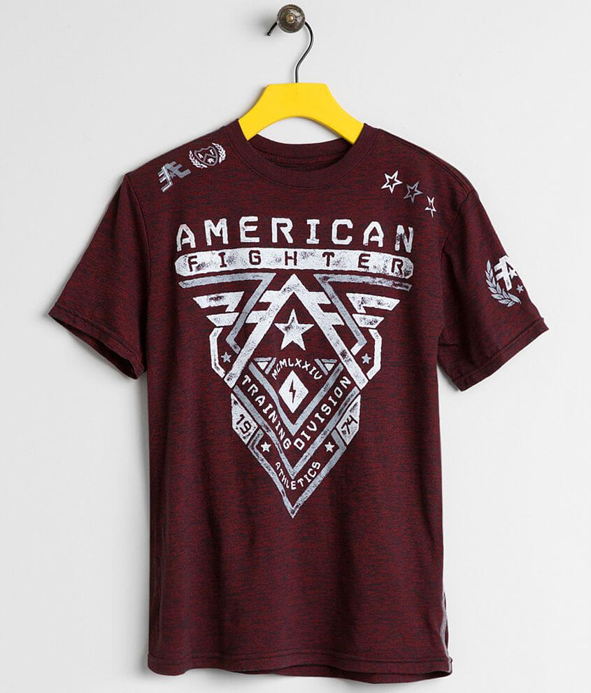 Boys - American Fighter Crossroads T-Shirt front view