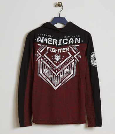 Boys - American Fighter North Dakota Hoodie