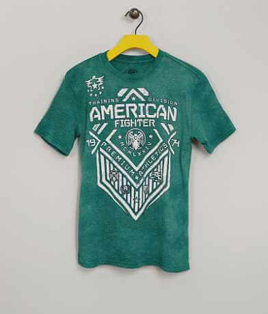 Boys - American Fighter North Dakota T-Shirt