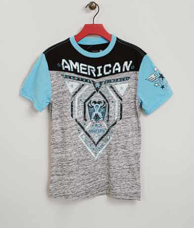 Boys - American Fighter Blue Mountain T-Shirt
