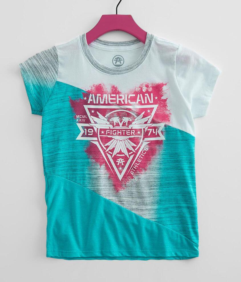 Girls - American Fighter Bay State T-Shirt front view