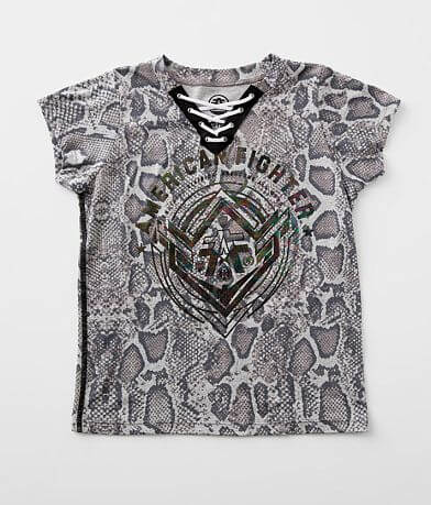 Girls - American Fighter Gurley Lace-Up T-Shirt