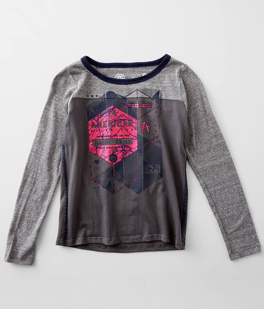 Girls - American Fighter Freeport T-Shirt front view